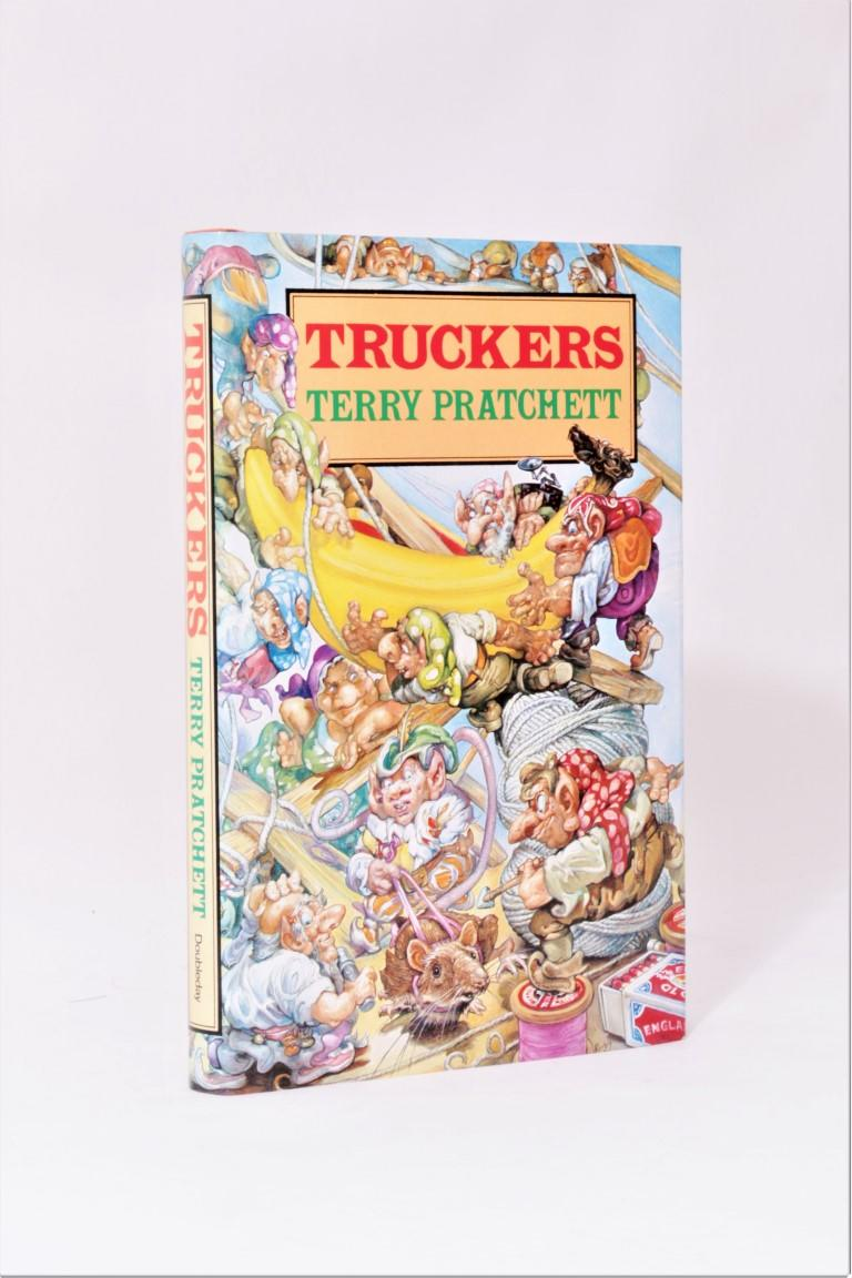 Terry Pratchett - Truckers - Doubleday, 1989, First Edition.