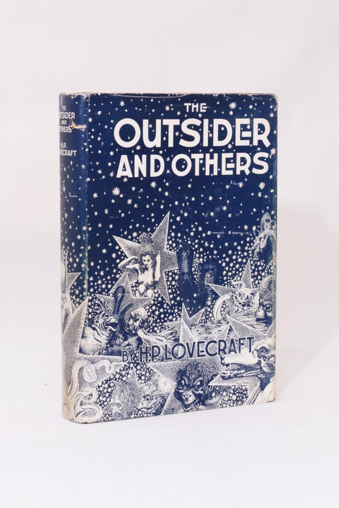 H.P. Lovecraft - The Outsider - Arkham House, 1939, First Edition.