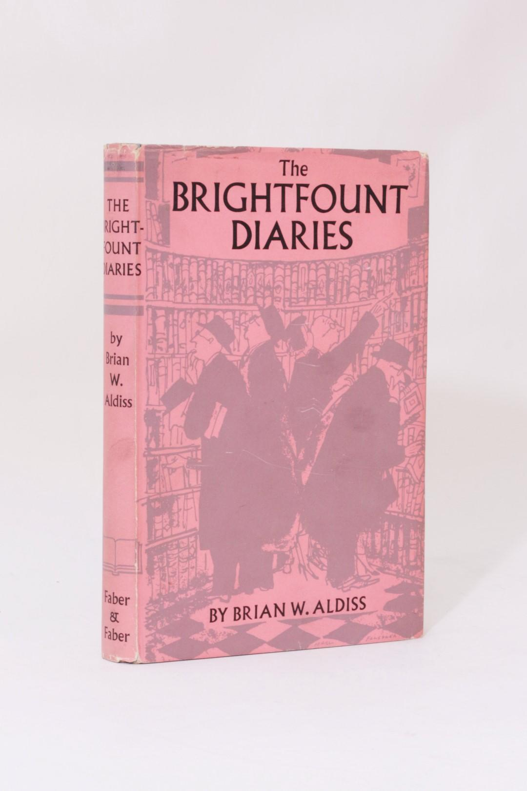 Brian W. Aldiss - The Brightfount Diaries - Faber, 1955, First Edition.