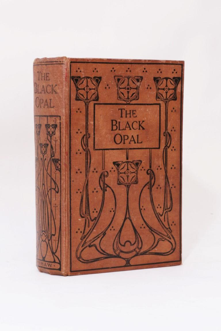 Fenton Ash - The Black Opal - Shaw, 1914, First Edition.