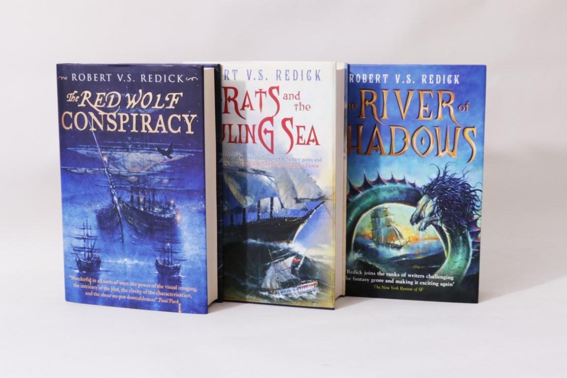 Robert V.S. Redick - The Chathrand Voyage [comprising] The Red Wolf Conspiracy, The Rats and the Ruling Sea & The River of Shadows - Gollancz, 2008-2011, Signed First Edition.