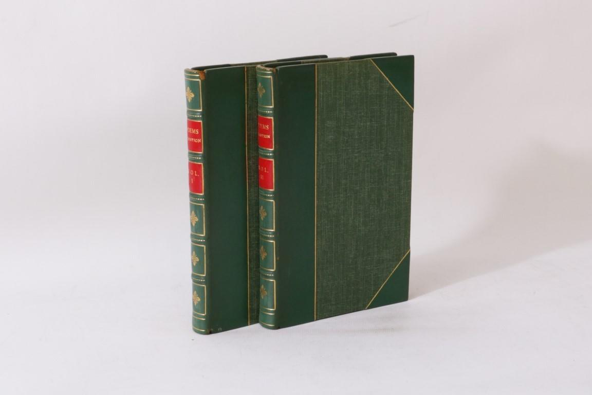 Alfred Lord Tennyson - Poems - J.M. Dent & Co., 1949, Later Edition.