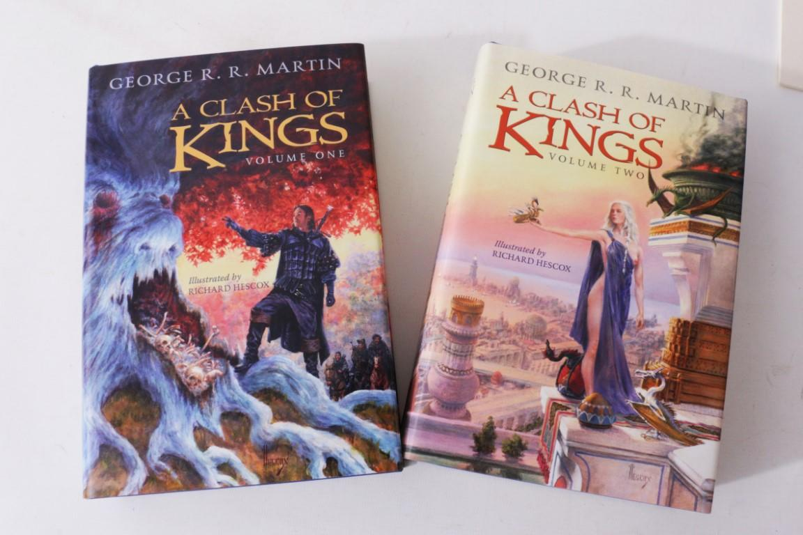 George R.R. Martin - A Clash of Kings - Subterranean Press, 2014, Limited Edition.  Signed