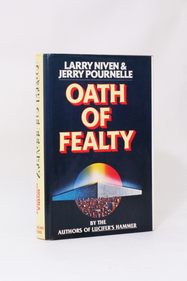 Larry Niven & Jerry Pournelle - Oath of Fealty - Timescape Books, 1981, Signed First Edition.