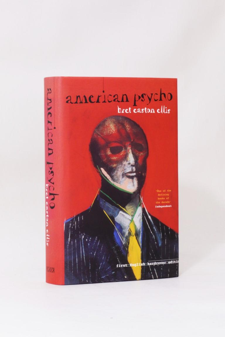 Bret Easton Ellis - American Psycho - Picador, 1988, Signed First Edition.