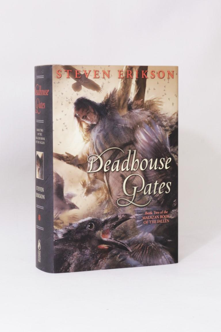 Steven Erikson - Deadhouse Gates - Subterranean Press, 2012, Signed Limited Edition.