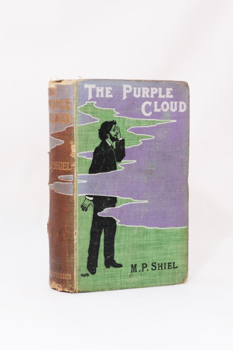 M.P. Shiel - The Purple Cloud - Chatto & Windus, 1901, First Edition.