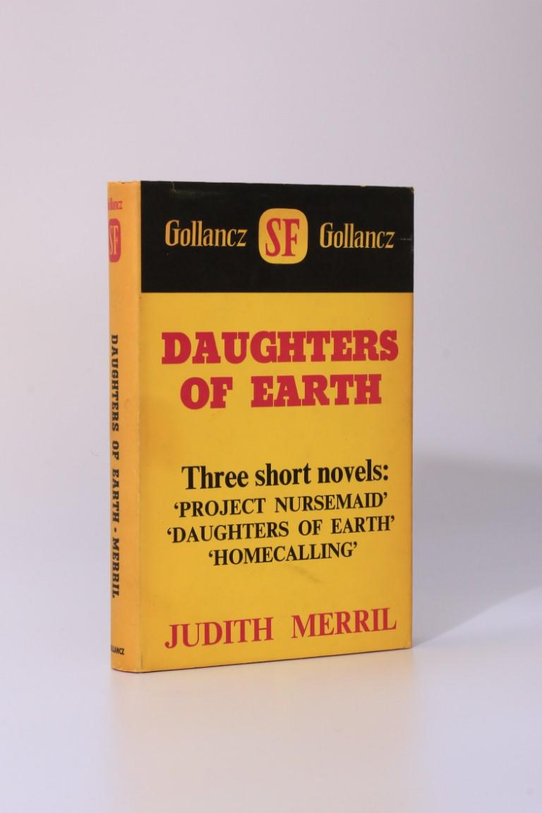 Judith Merril - Daughters of Earth - Gollancz, 1968, First Edition.