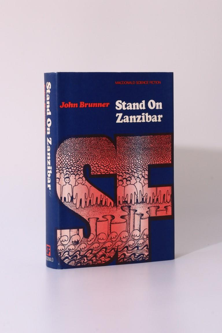 John Brunner - Stand On Zanzibar - Macdonald, 1969, First Edition.