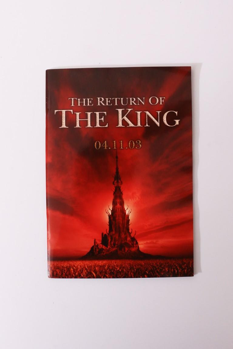 Stephen King - The Return of the King: The Dark Tower, Introduction and Extract from Wolves of the Calla. - Hodder & Stoughton, 2003, Proof.