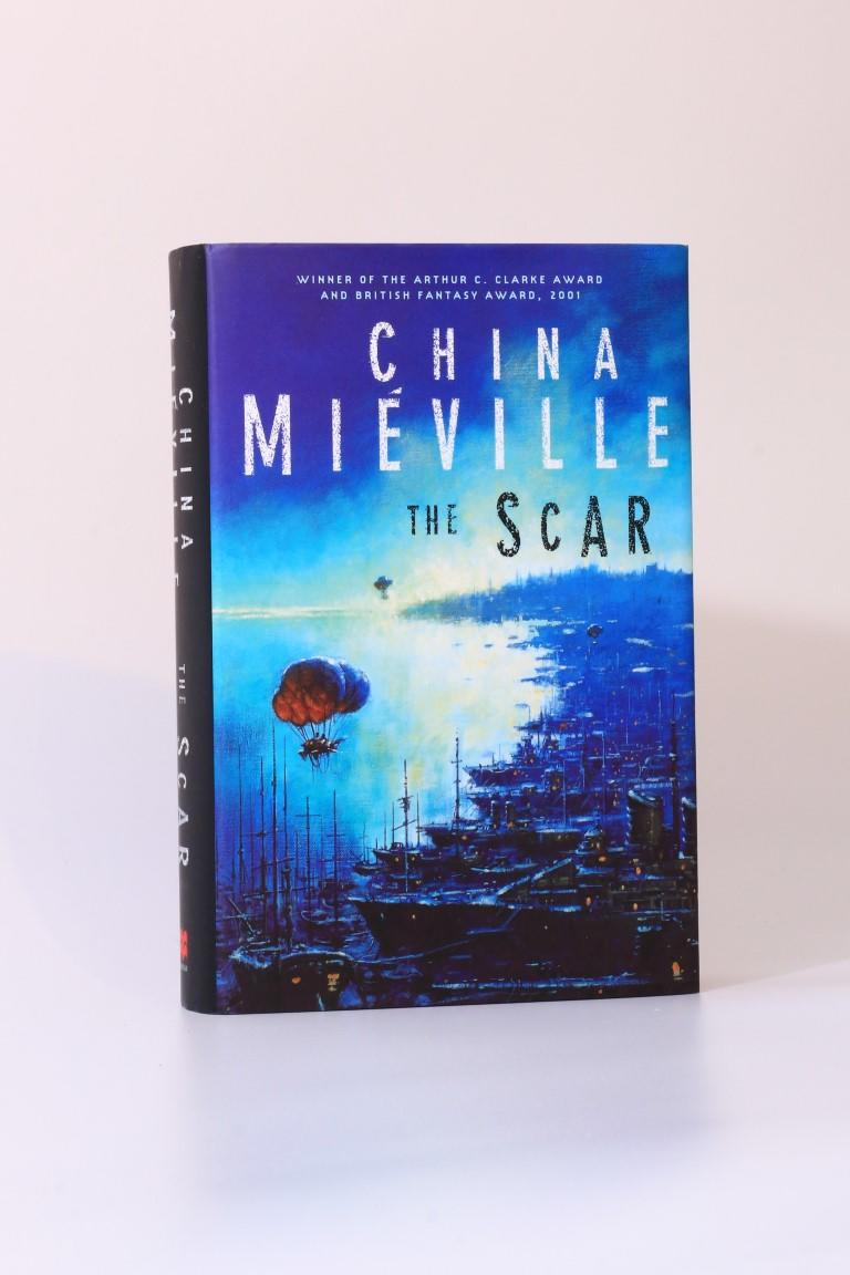 China Mieville - The Scar - Macmillan, 2002, Signed First Edition.