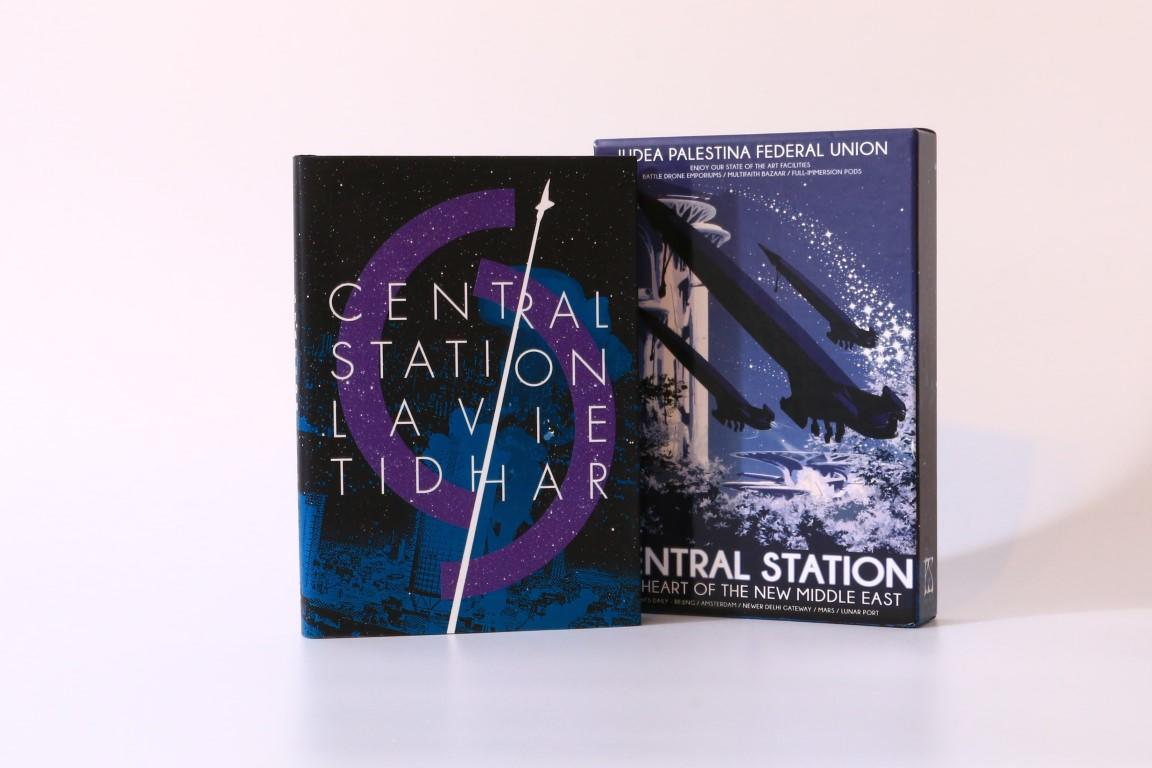 Lavie Tidhar - Central Station - PS Publishing, 2016, Signed Limited Edition.