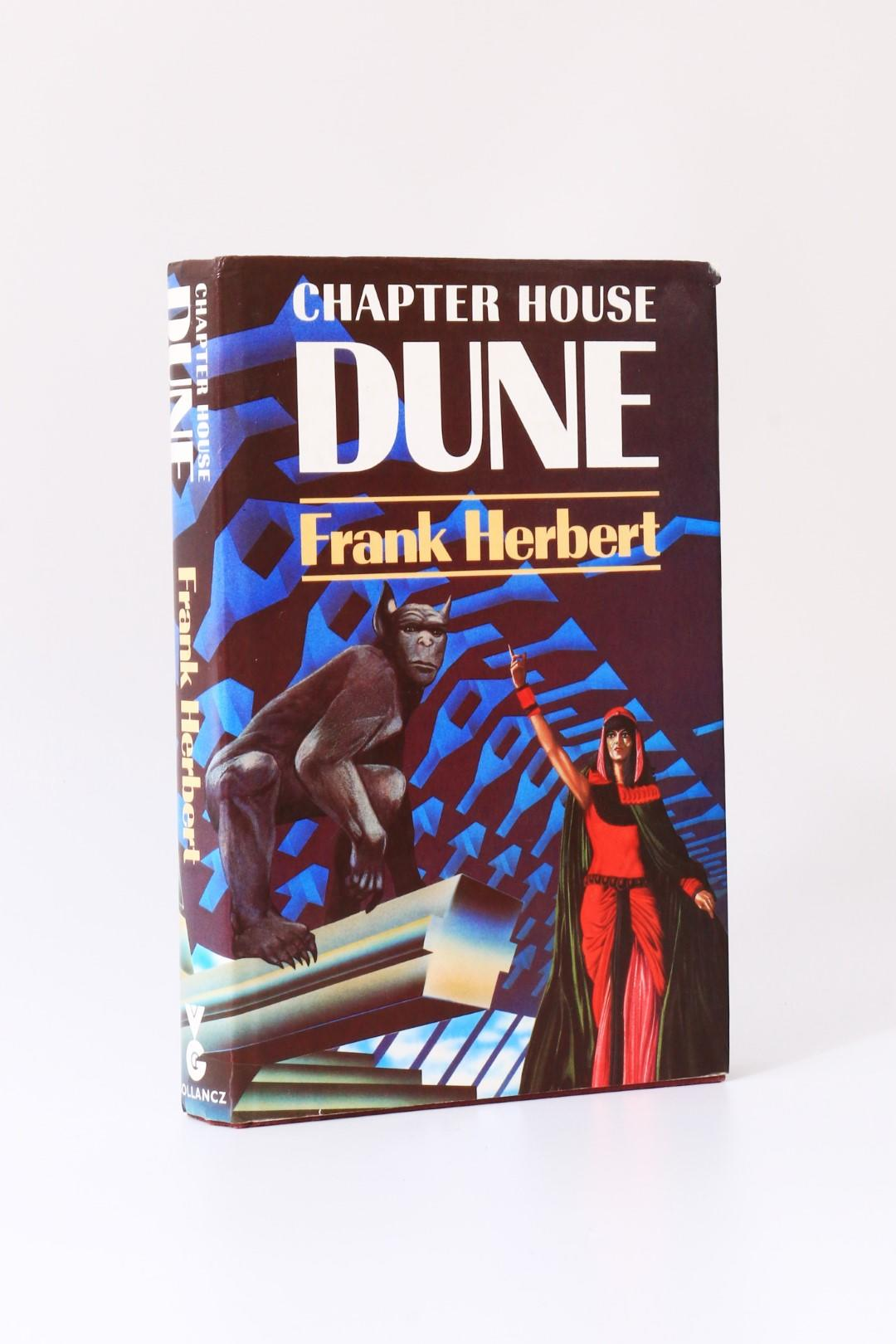 Frank Herbert - Chapter House Dune - Gollancz, 1985, Signed First Edition.