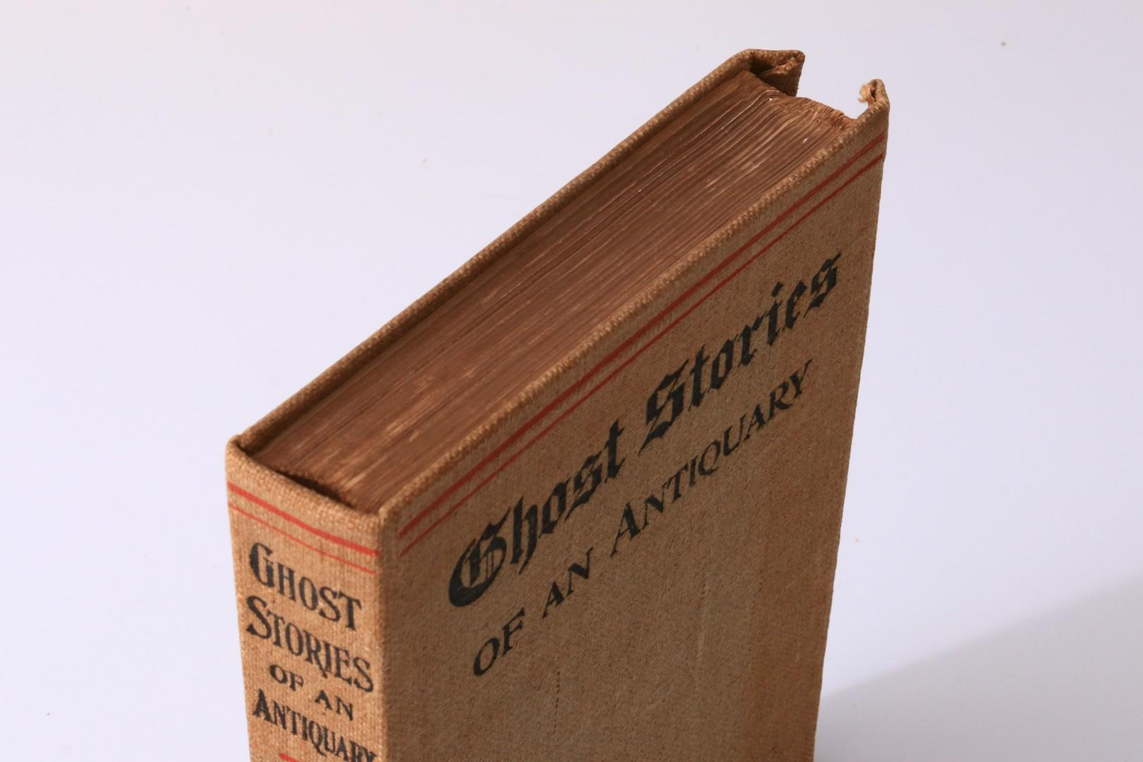 M.R. James - Ghost Stories of an Antiquary - Edward Arnold, 1904, First Edition.