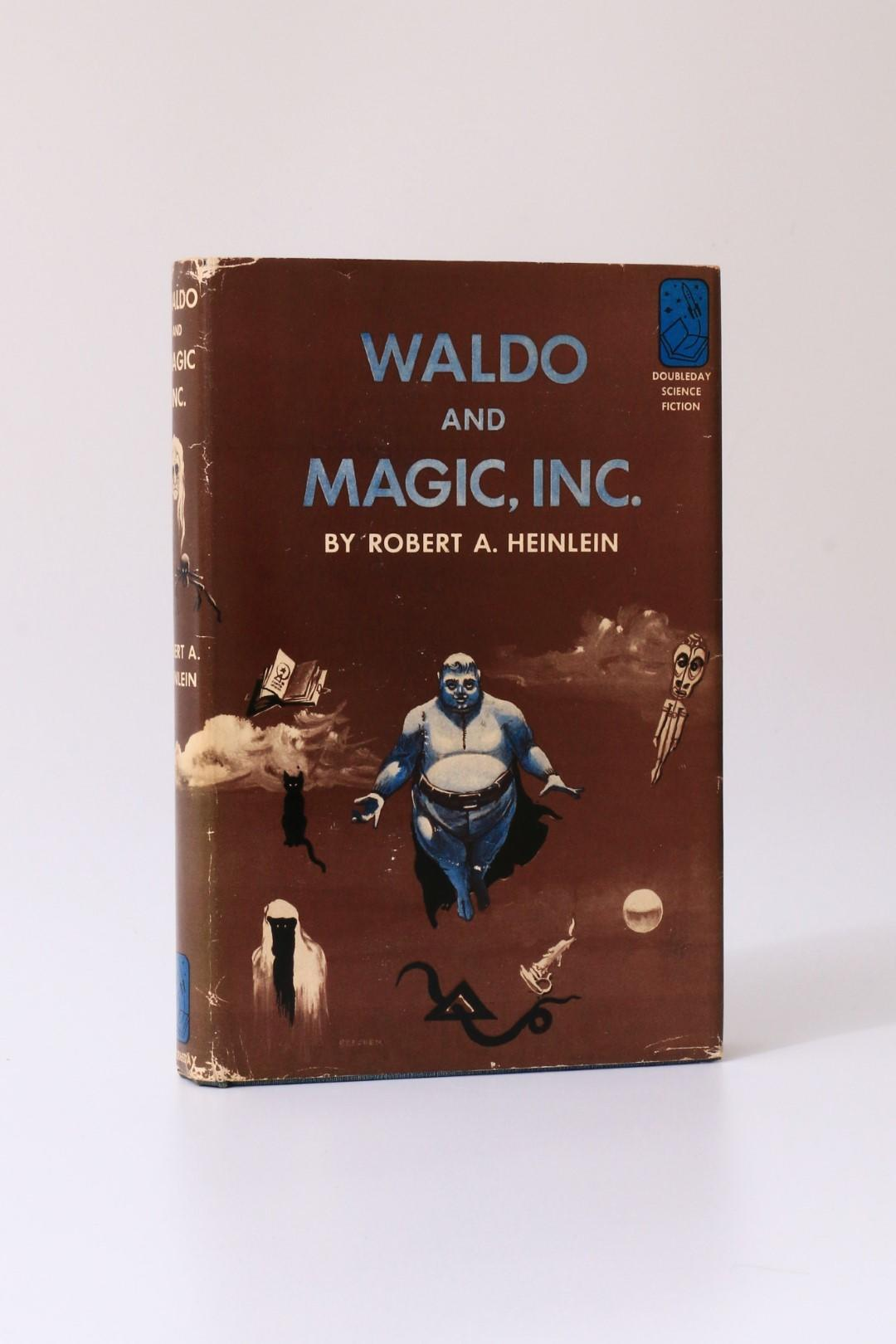 Robert A. Heinlein - Waldo and Magic, Inc. - Doubleday, 1950, First Edition.