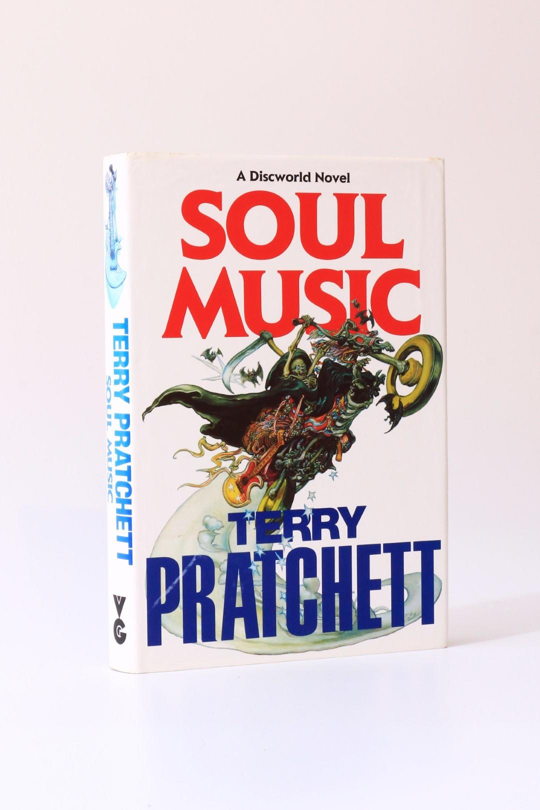 Terry Pratchett - Soul Music - Victor Gollancz, 1994, First Edition.