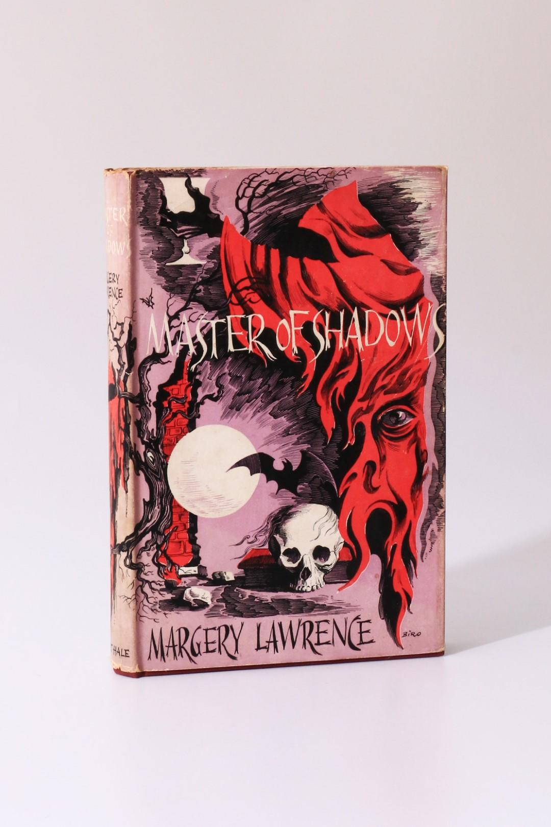 Margery Lawrence - Master of Shadow - Robert Hale, 1959, First Edition.