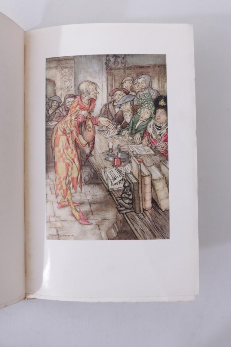 Robert Browning - The Pied Piper of Hamelin - George Harrap, 1934, Limited Edition.  Signed