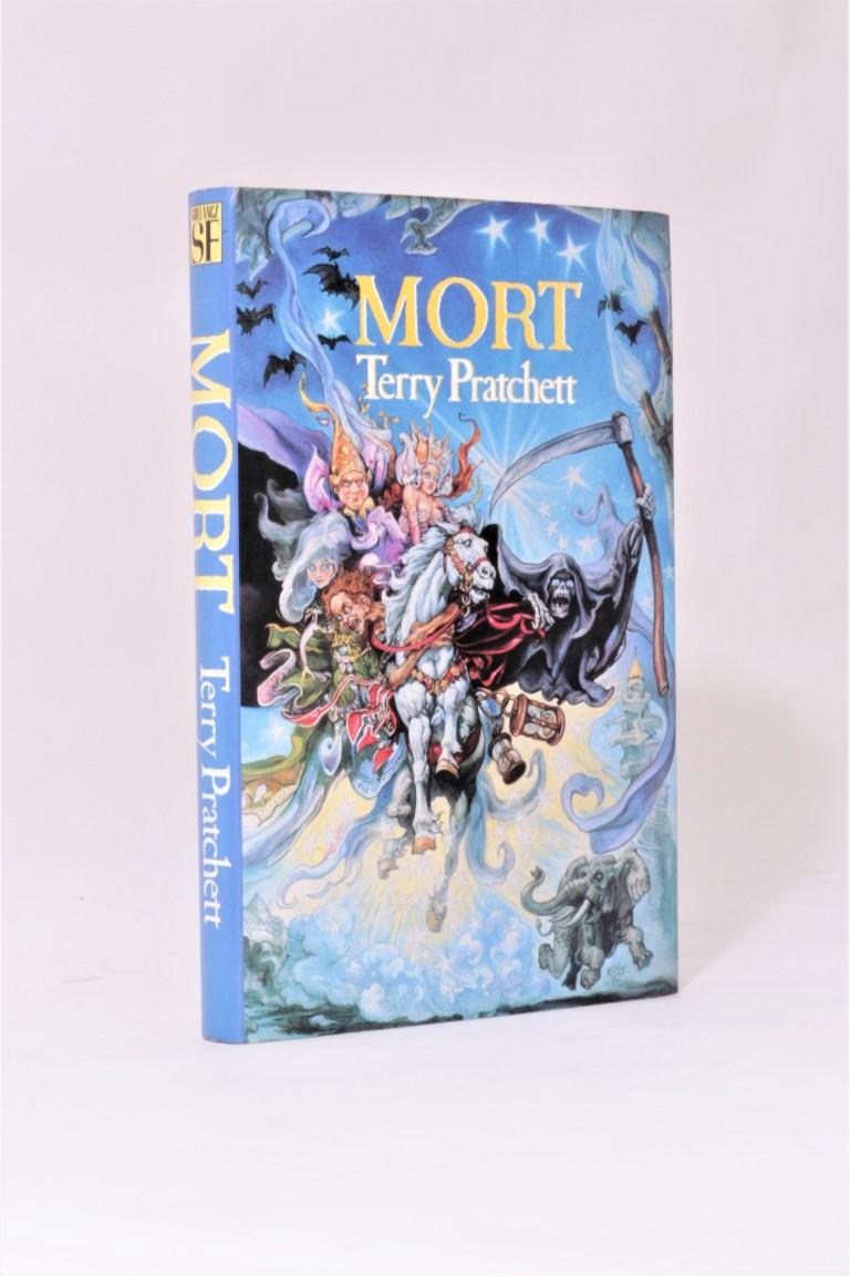 Terry Pratchett - Mort - Gollancz, 1988, Signed First Edition.