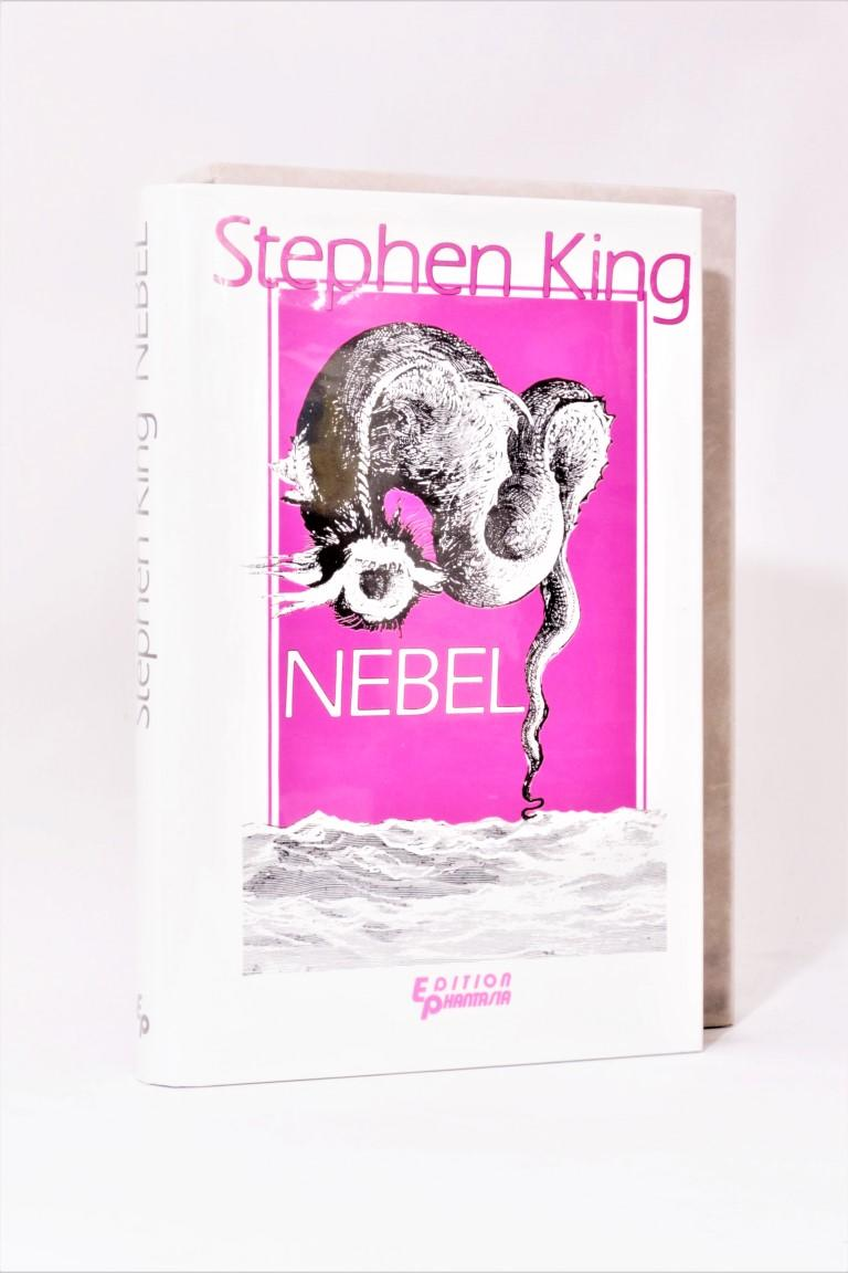 Stephen King - Nebel - Edition Phantasia, 1986, Signed Limited Edition.