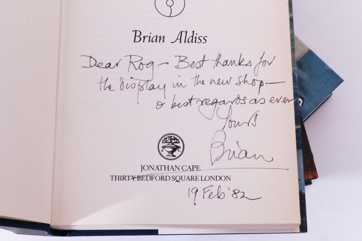 Brian Aldiss - The Helliconia Trilogy [comprising] Spring, Summer and Winter - Jonathan Cape, 1982-1985, Signed First Edition.