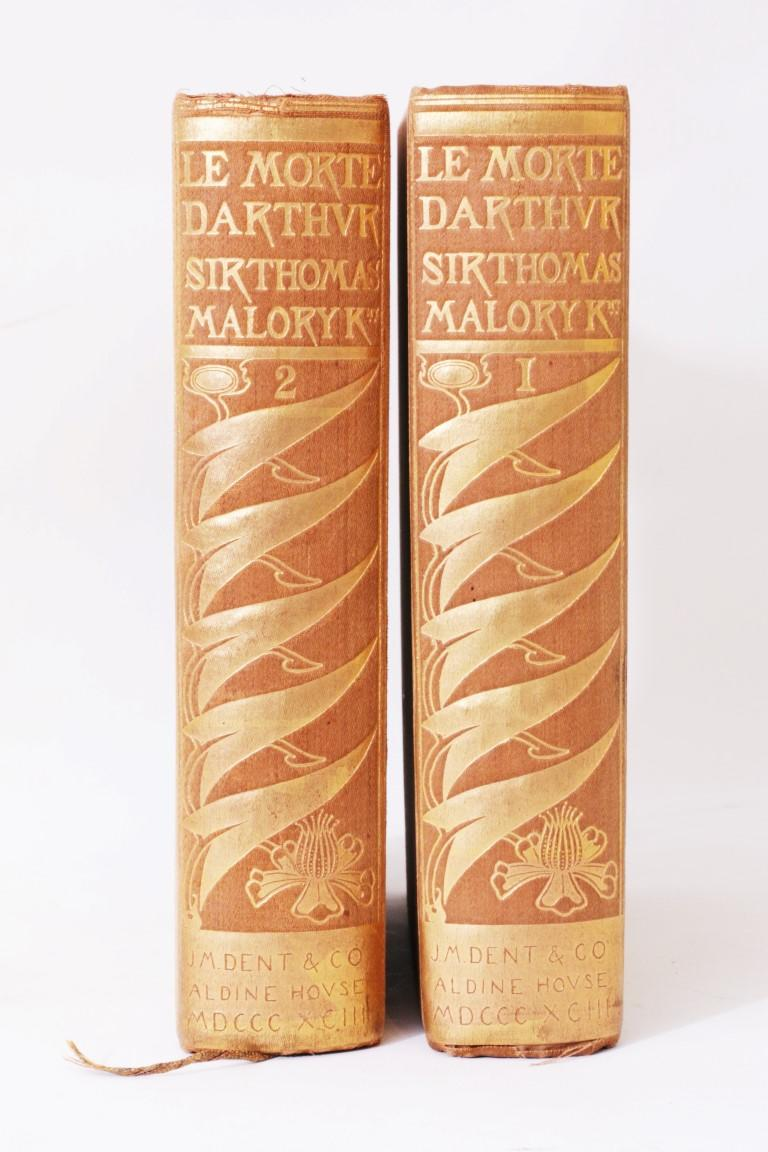 Thomas Malory - Le Morte D'Arthur - J.M. Dent & Co., 1893, Limited Edition.