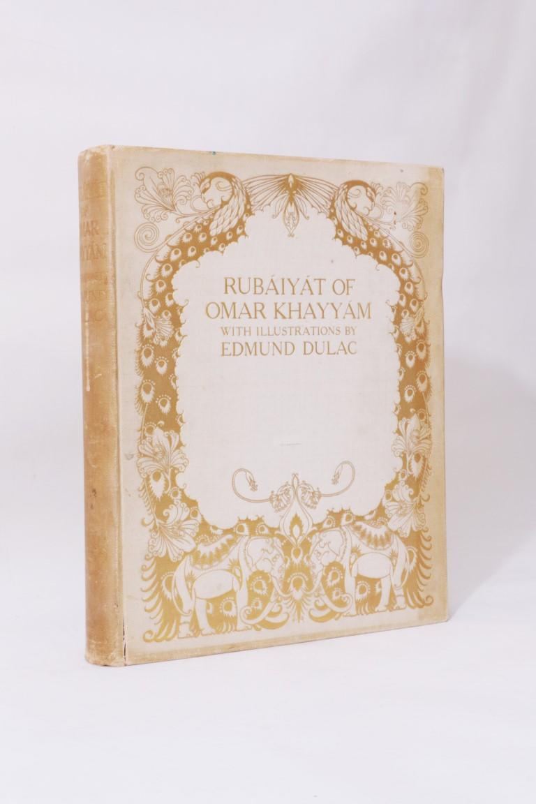 Omar Khayyam [trans. Edward Fitzgerald] - Rubaiyat of Omar Khayyam - Hodder & Stoughton, 1909, First Thus.