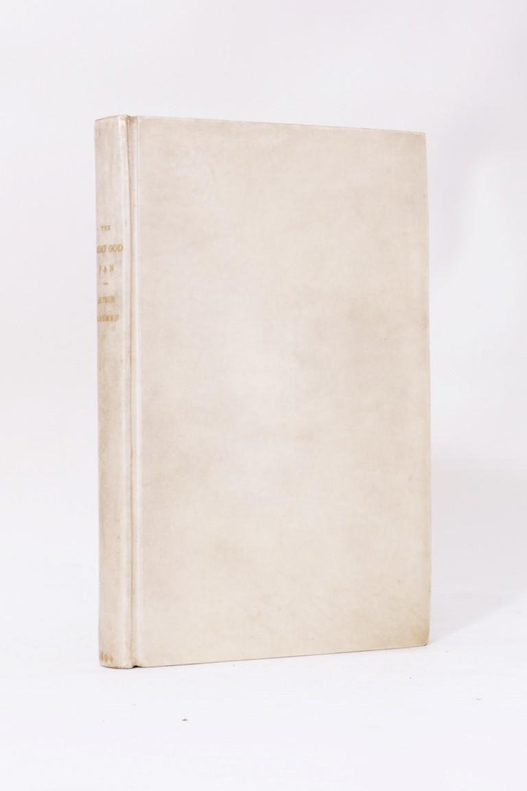 Arthur Machen - The Great God Pan and the Inmost Light - John Lane, 1894, First Edition.  Signed