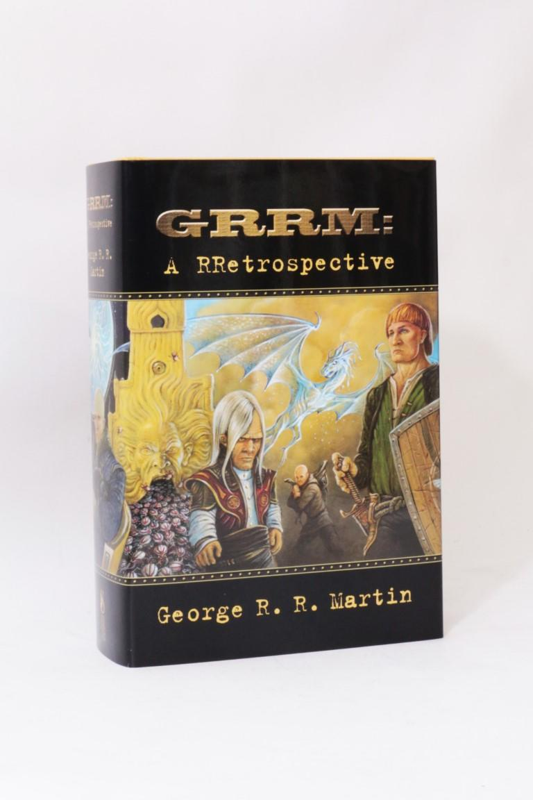 George R. R. Martin - GRRM: A Rrestrospective - Subterranean Press, 2003, First .
