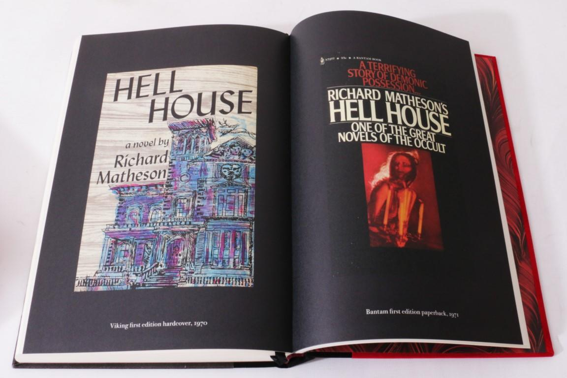 Richard Matheson - Hell House    - Centipede Press, 2011, Signed Limited Edition.