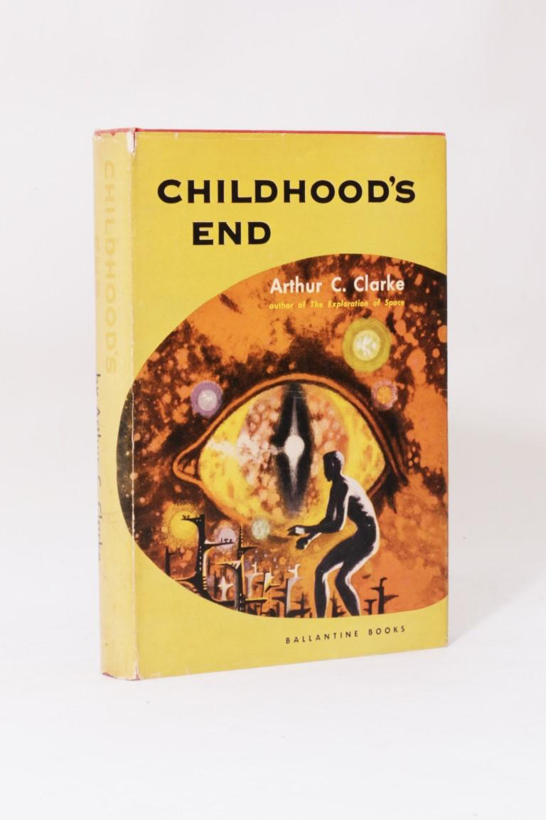 Arthur C. Clarke - Childhood's End - Ballantine Books, 1953, First Edition.