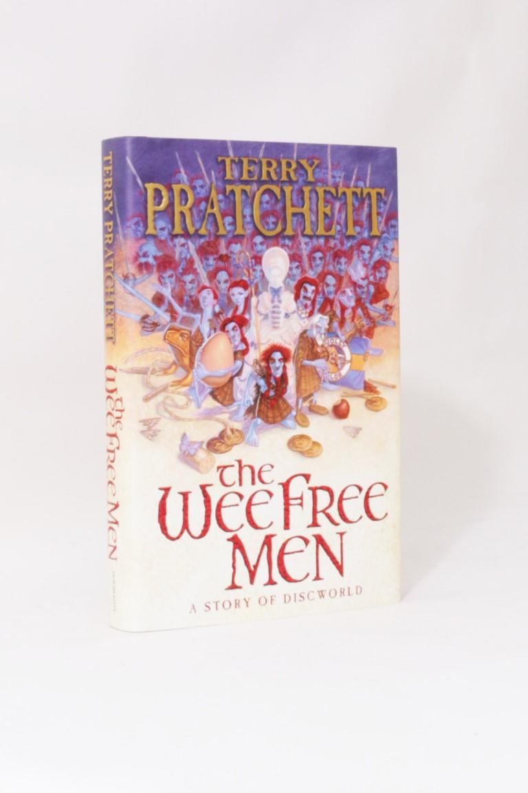 Terry Pratchett - The Wee Free Men - Doubleday, 2003, Signed First Edition.