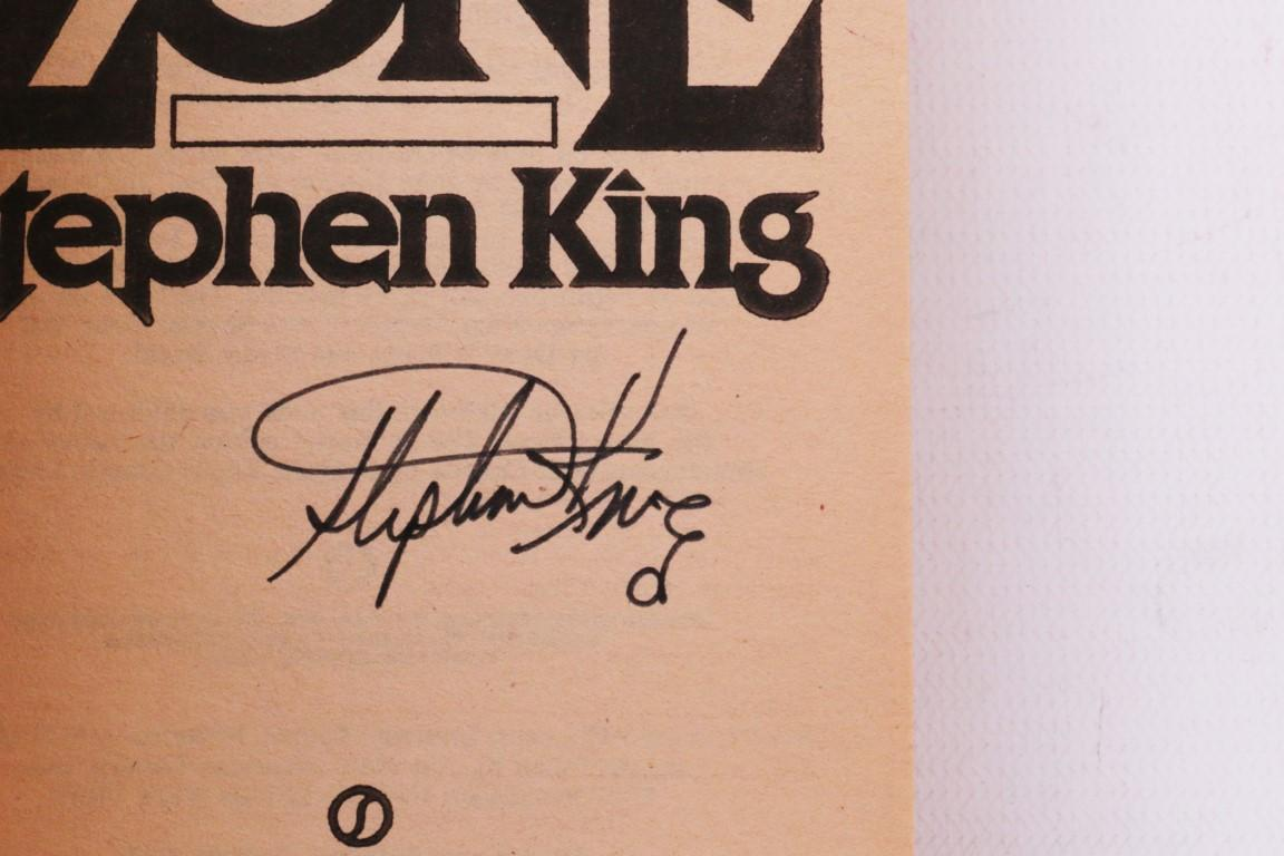 Stephen King - The Dead Zone - Signet / NAL, 1980, Proof. Signed