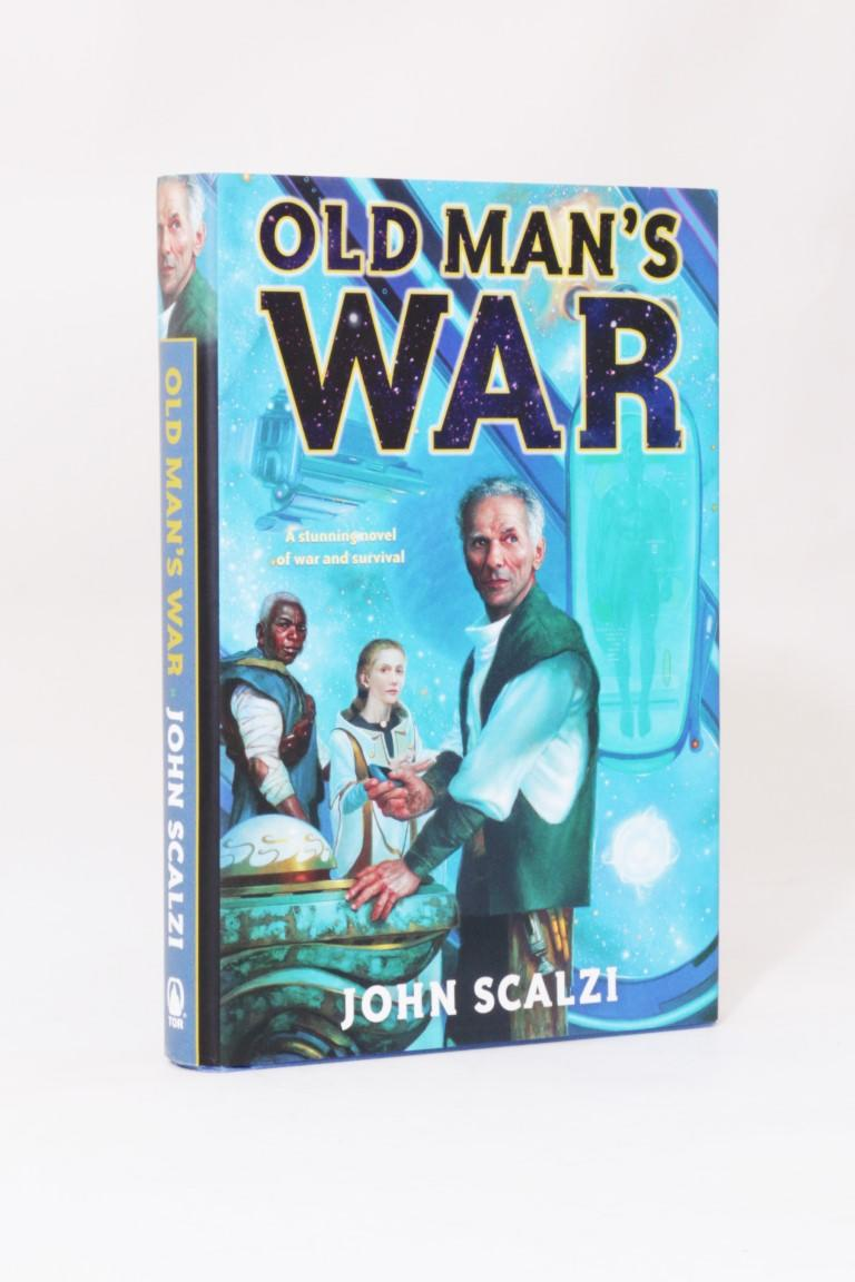 John Scalzi - Old Man's War - Tor, 2005, First Edition.