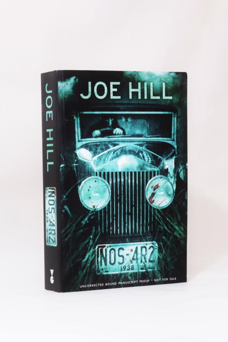 Joe Hill - NOS-4R2 [NOS-4A2] - Gollancz, 2012 [2013], Proof.