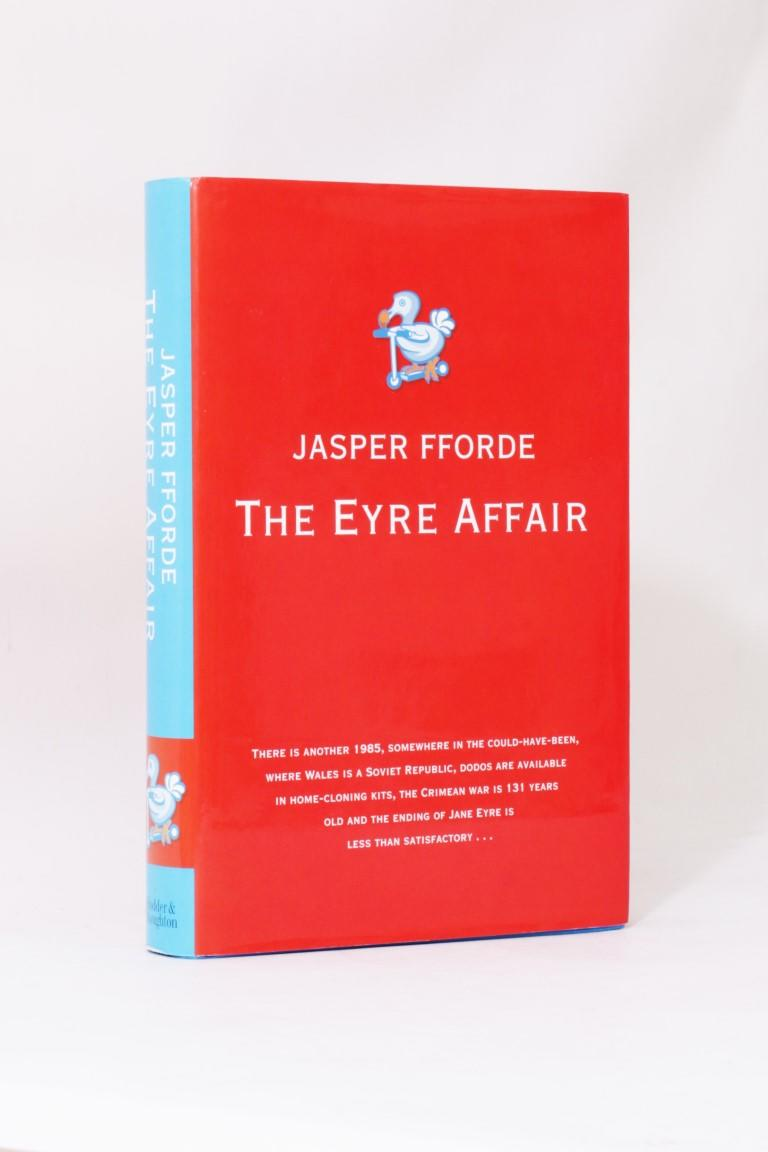 Jasper Fforde - The Eyre Affair - Hodder & Stoughton, 2001, Signed First Edition.