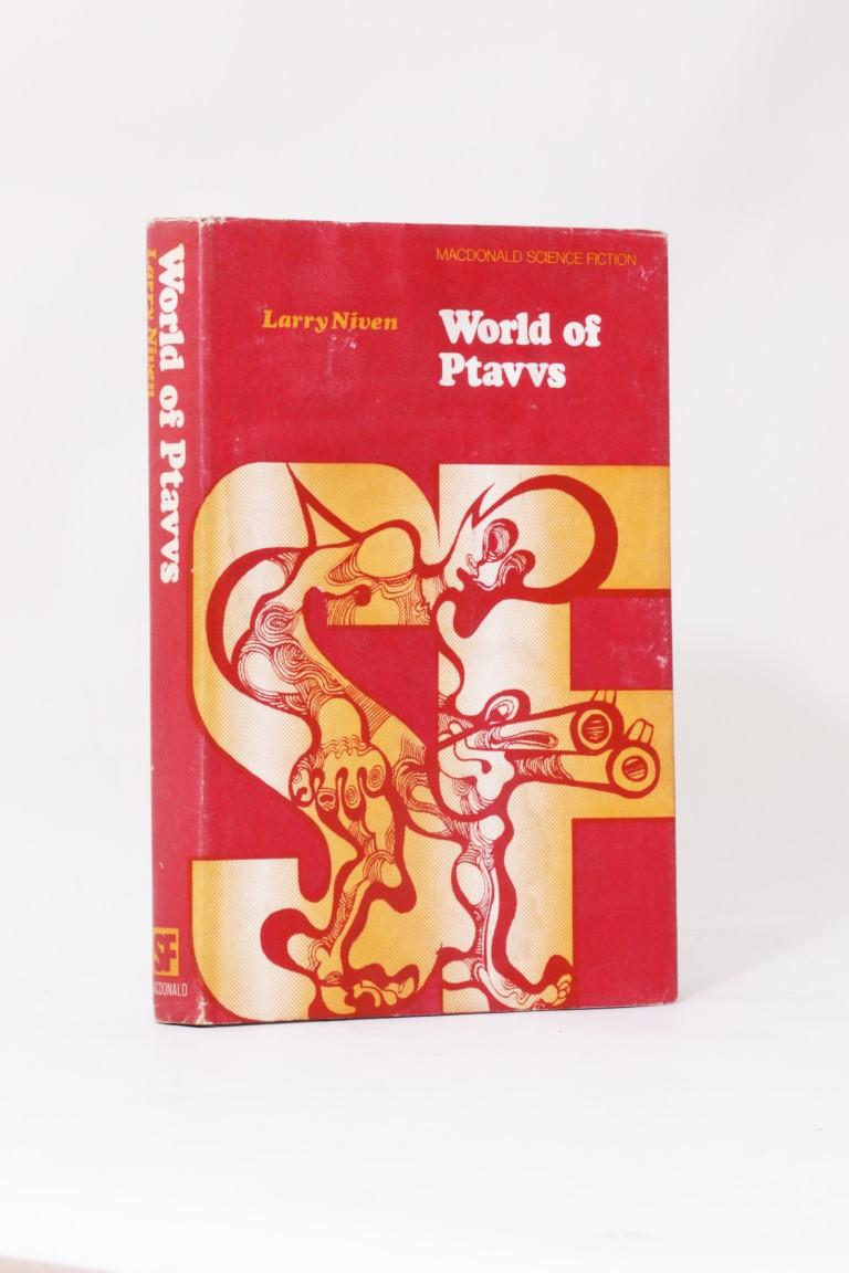 Larry Niven - World of Ptavvs - Macdonald, 1968, First Edition.