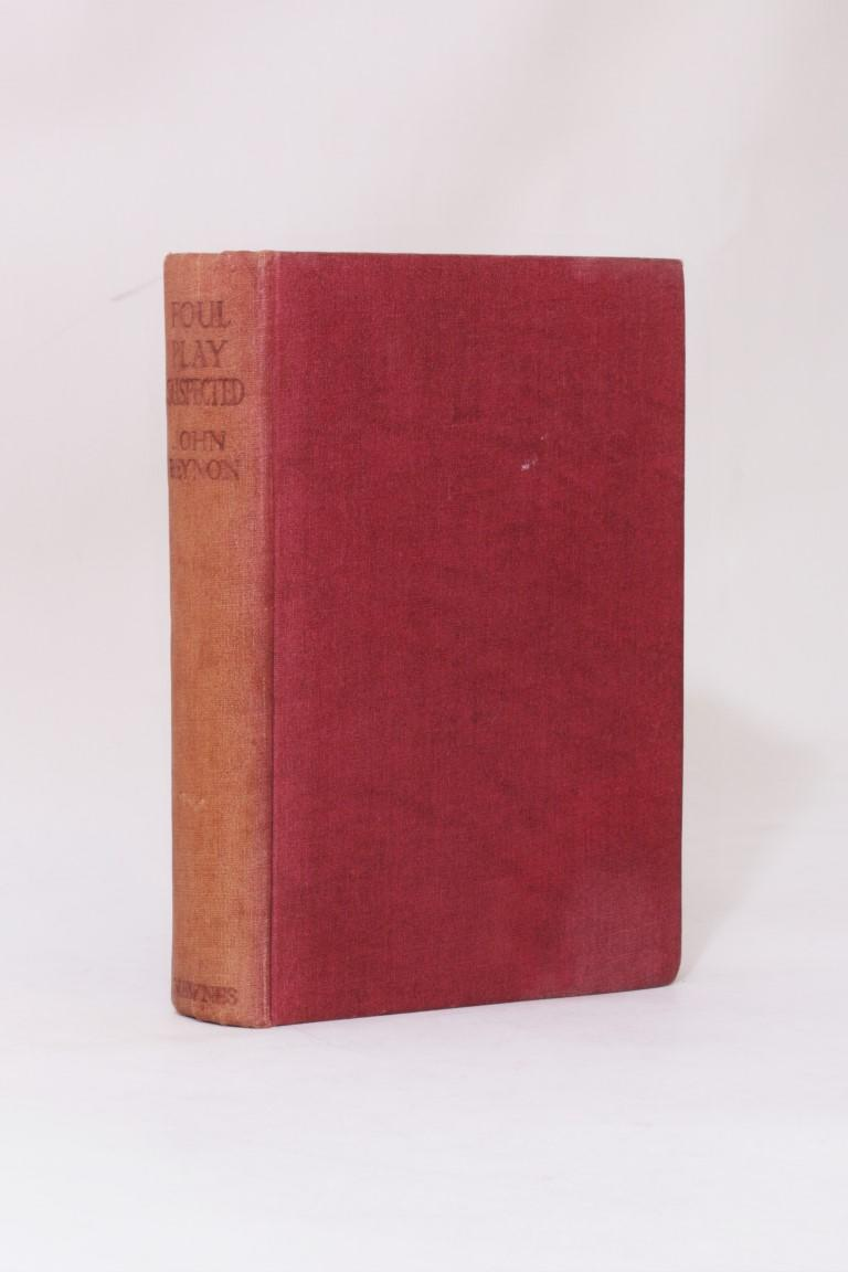John Beynon [John Wyndham] - Foul Play Suspected - Newnes, n.d. [1935], First Edition.