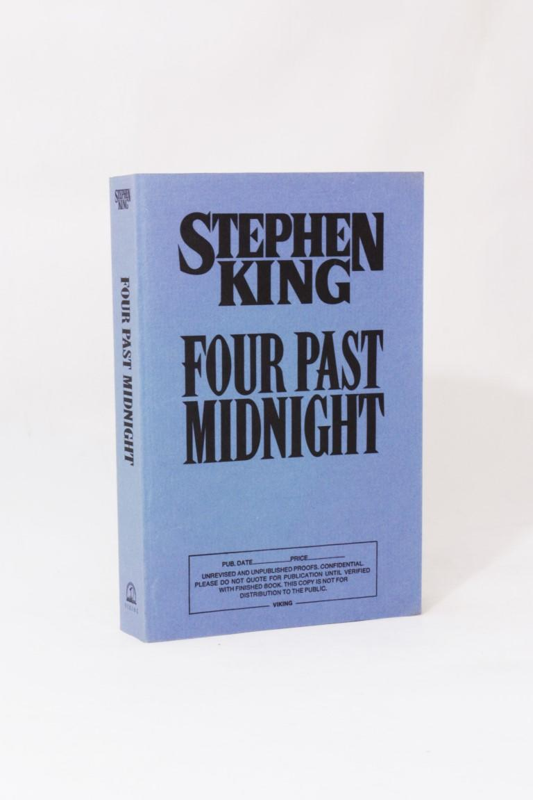 Stephen King - Four Past Midnight - Proof Copy - Viking, 1990, Proof.