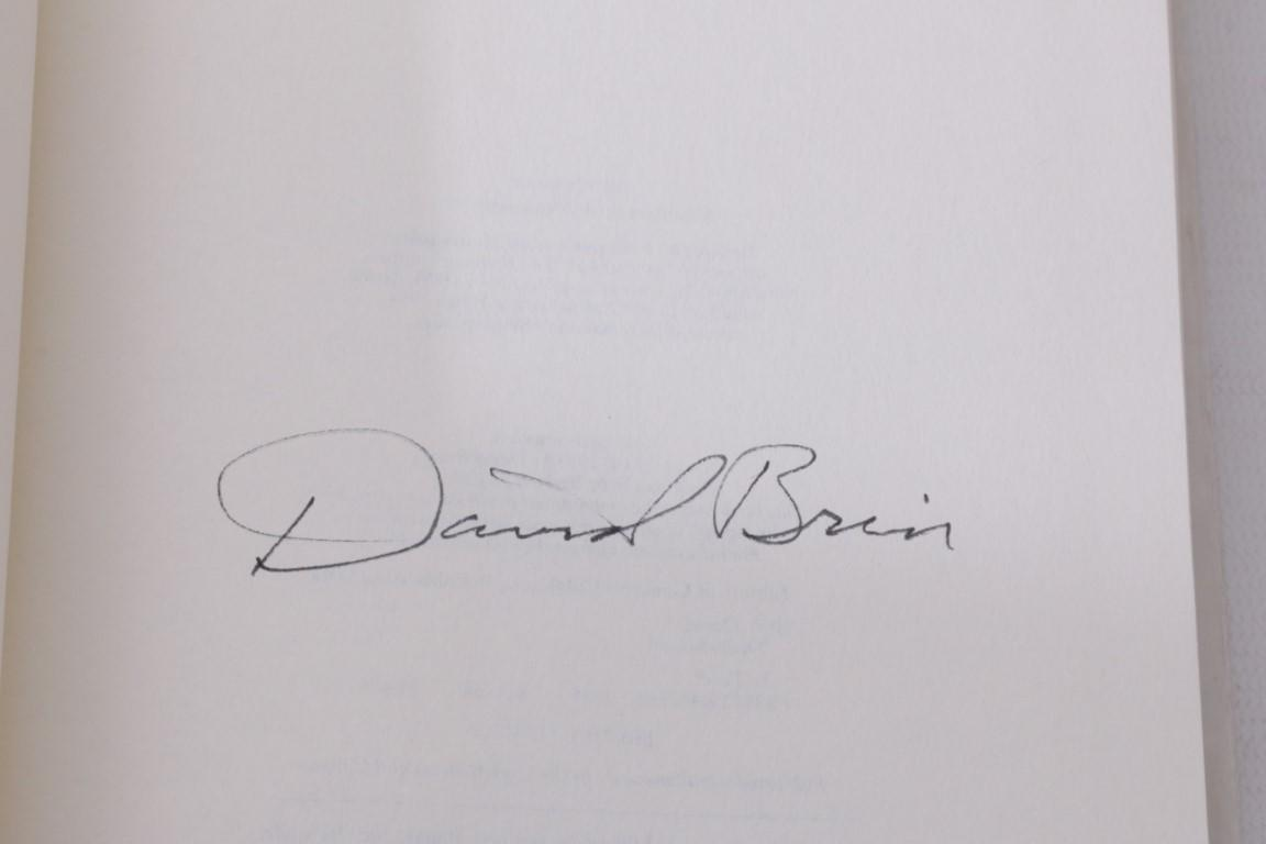 David Brin - The Postman - Bantam Press, 1985, Signed First Edition.