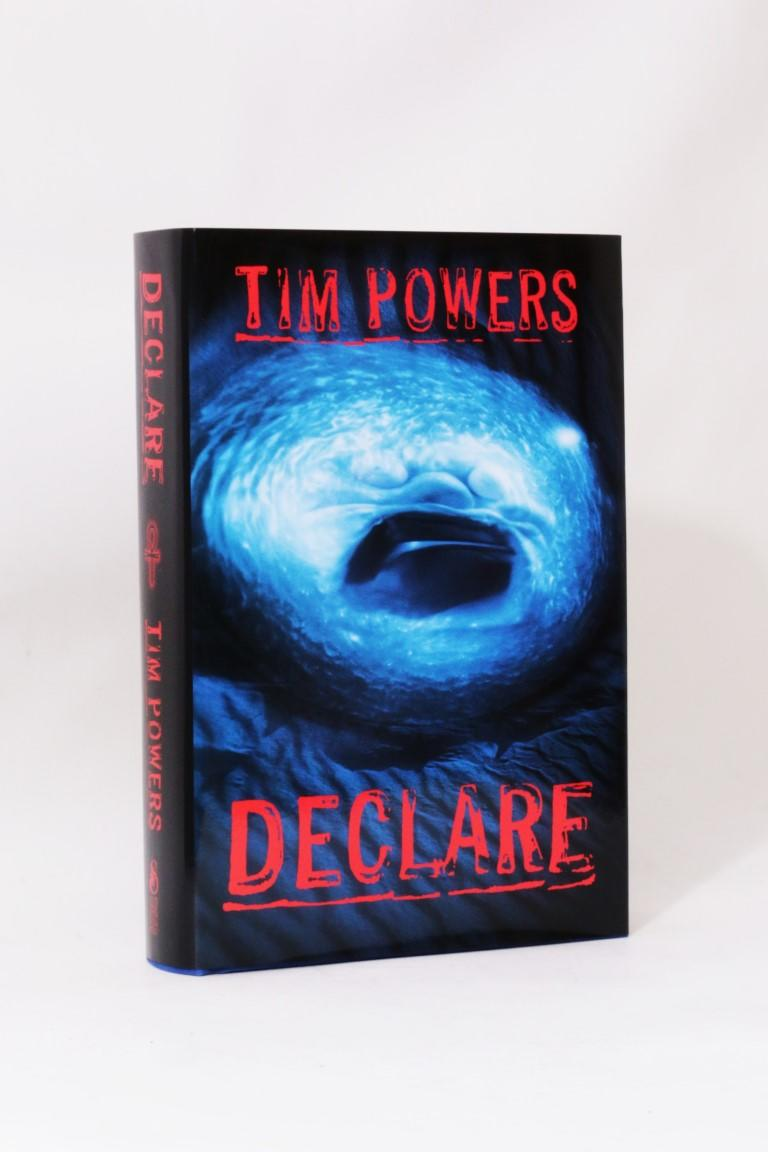 Tim Powers - Declare - Subterranean Press, 2000, Signed Limited Edition.