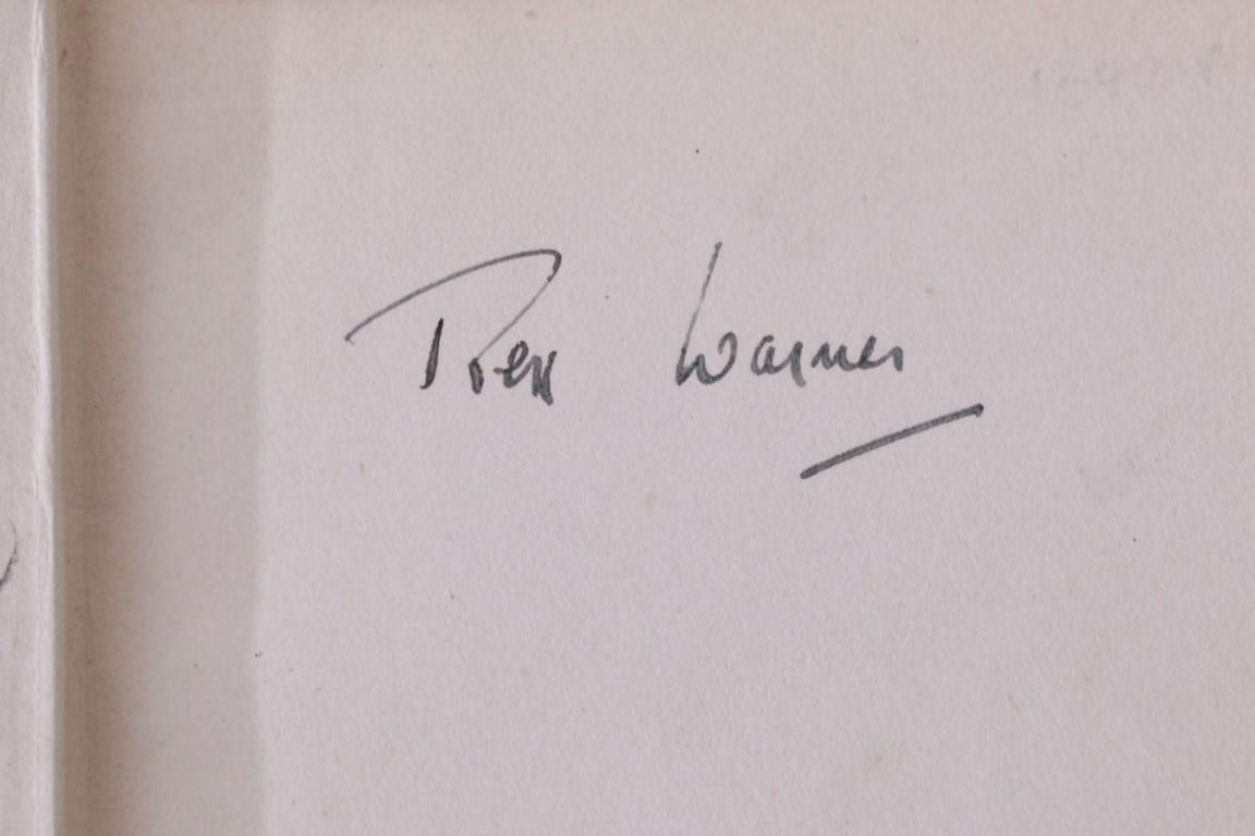 Rex Warner - The Aerodrome: A Love Story - Bodley Head, 1941, Signed First Edition.