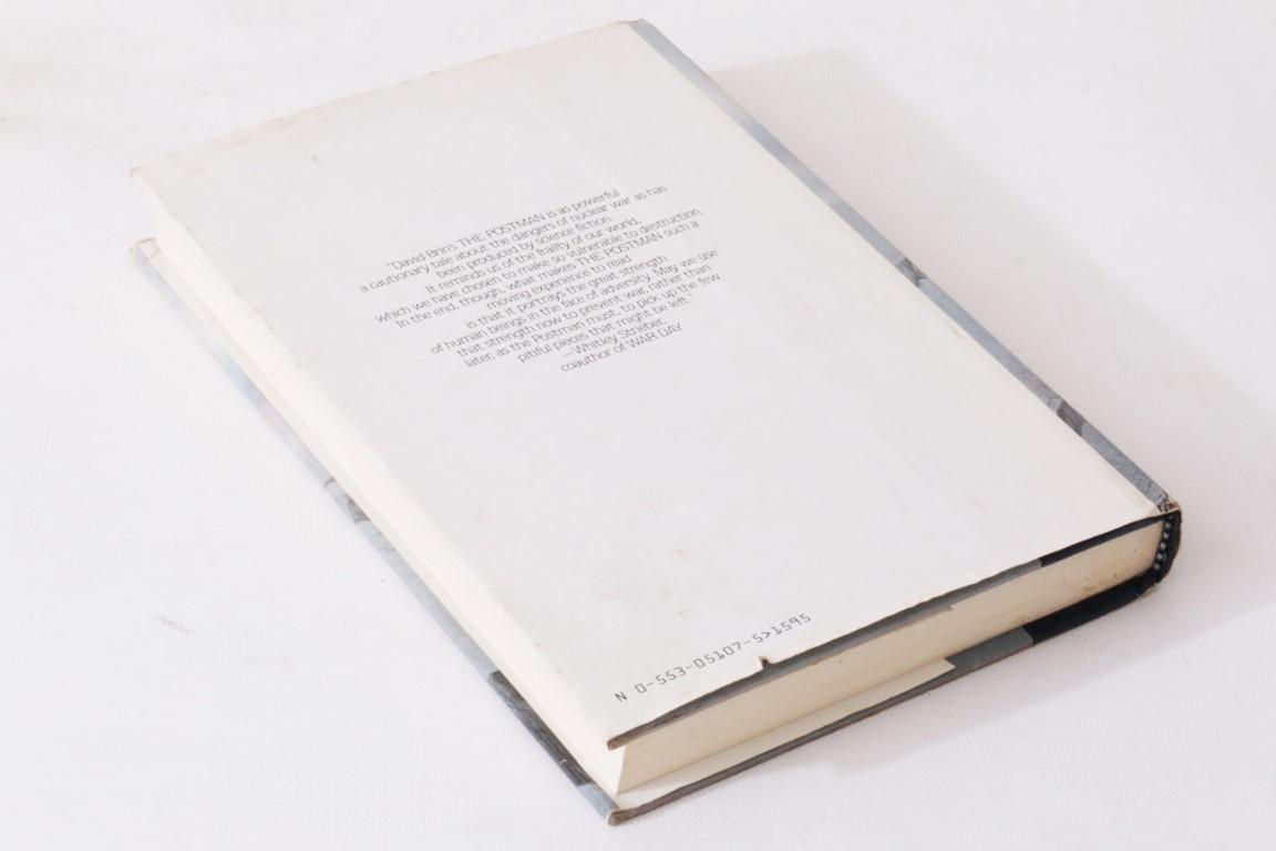 David Brin - The Postman - Kingsley Amis' Copy - Bantam Press, 1985, Signed First Edition.