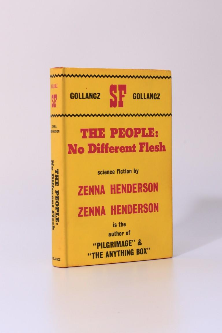 Zenna Henderson - The People: No Different Flesh - Gollancz, 1966, First Edition.