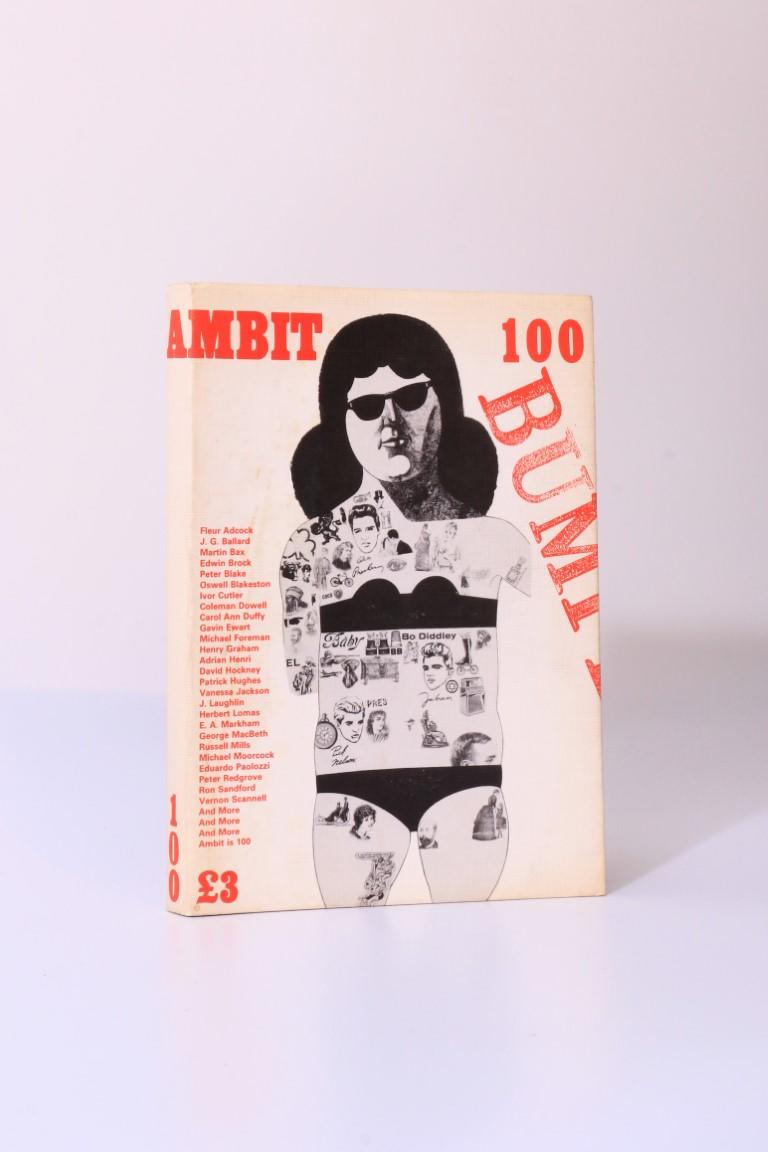 Various [J.G. Ballard interest] - Ambit 100 - Ambit, 1985, Signed First Edition.