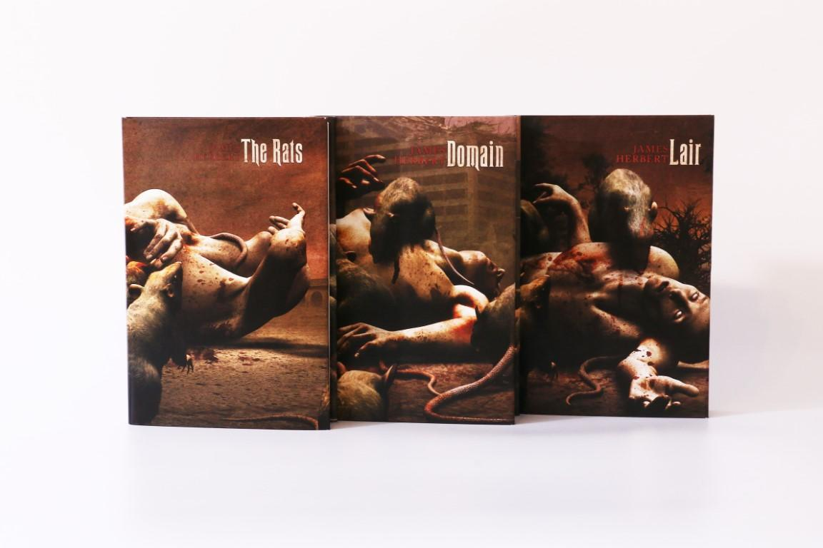 James Herbert - The Rats Trilogy [consisting] The Rats, Lair and Domain - Centipede Press, 2015,