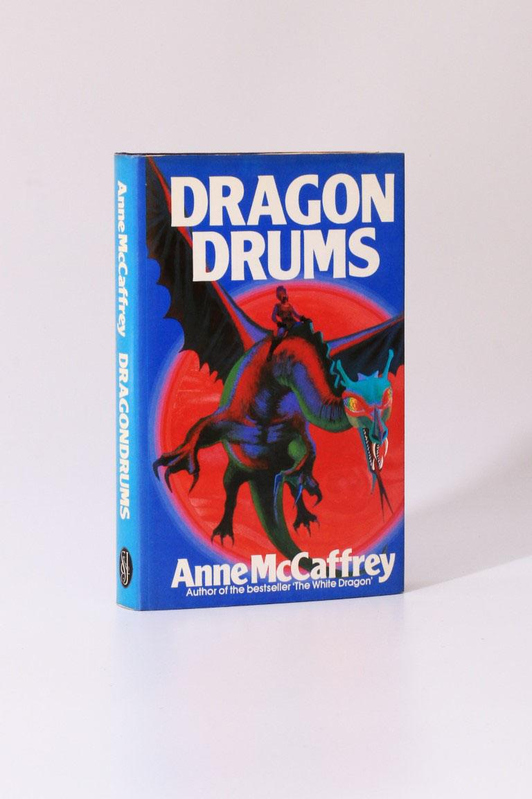 Anne McCaffrey - Dragon Drums - Sidgwick & Jackson, 1979, Signed First Edition.