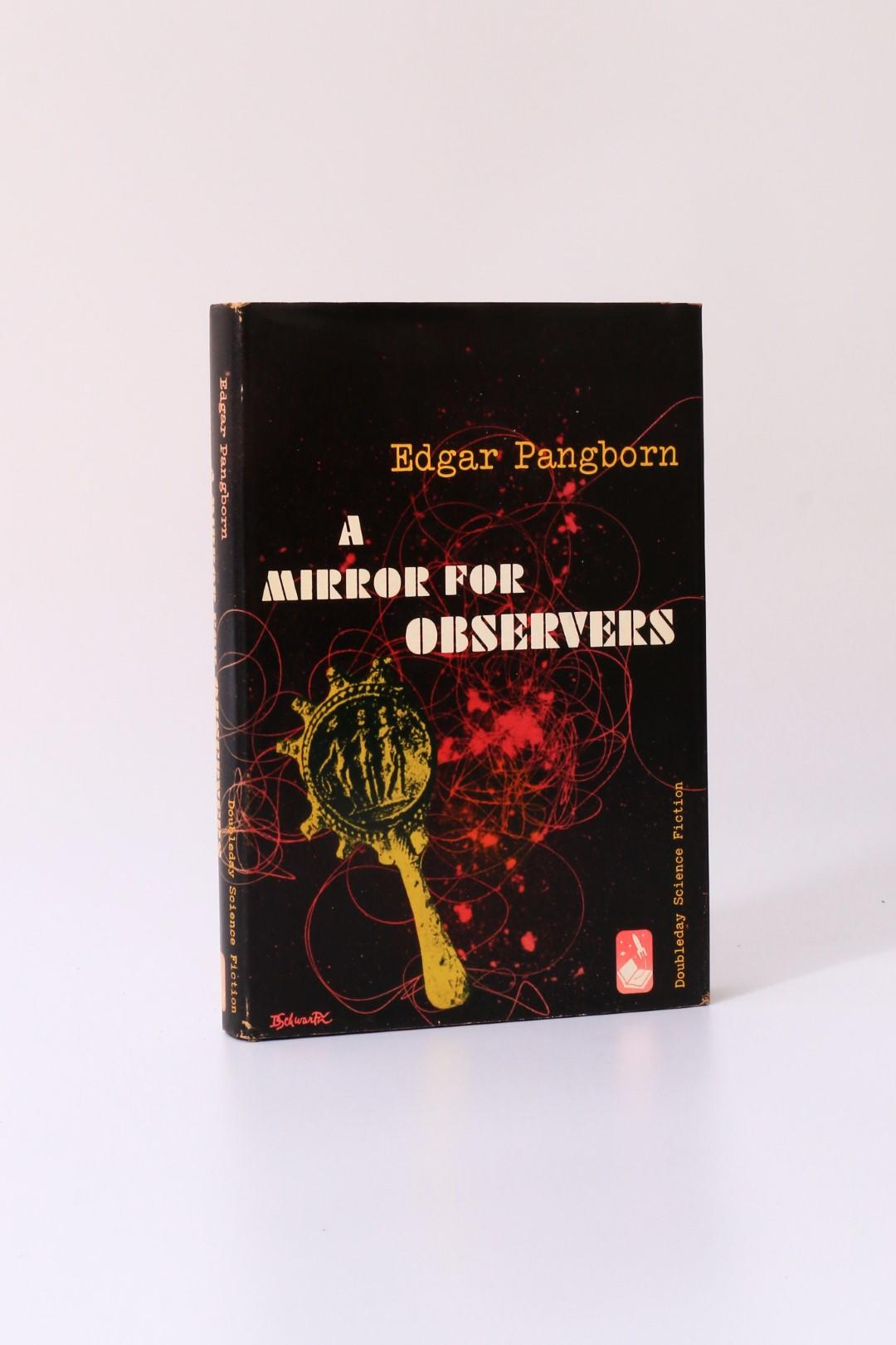 Edgar Pangborn - A Mirror for Observers - Doubleday, 1954, First Edition.