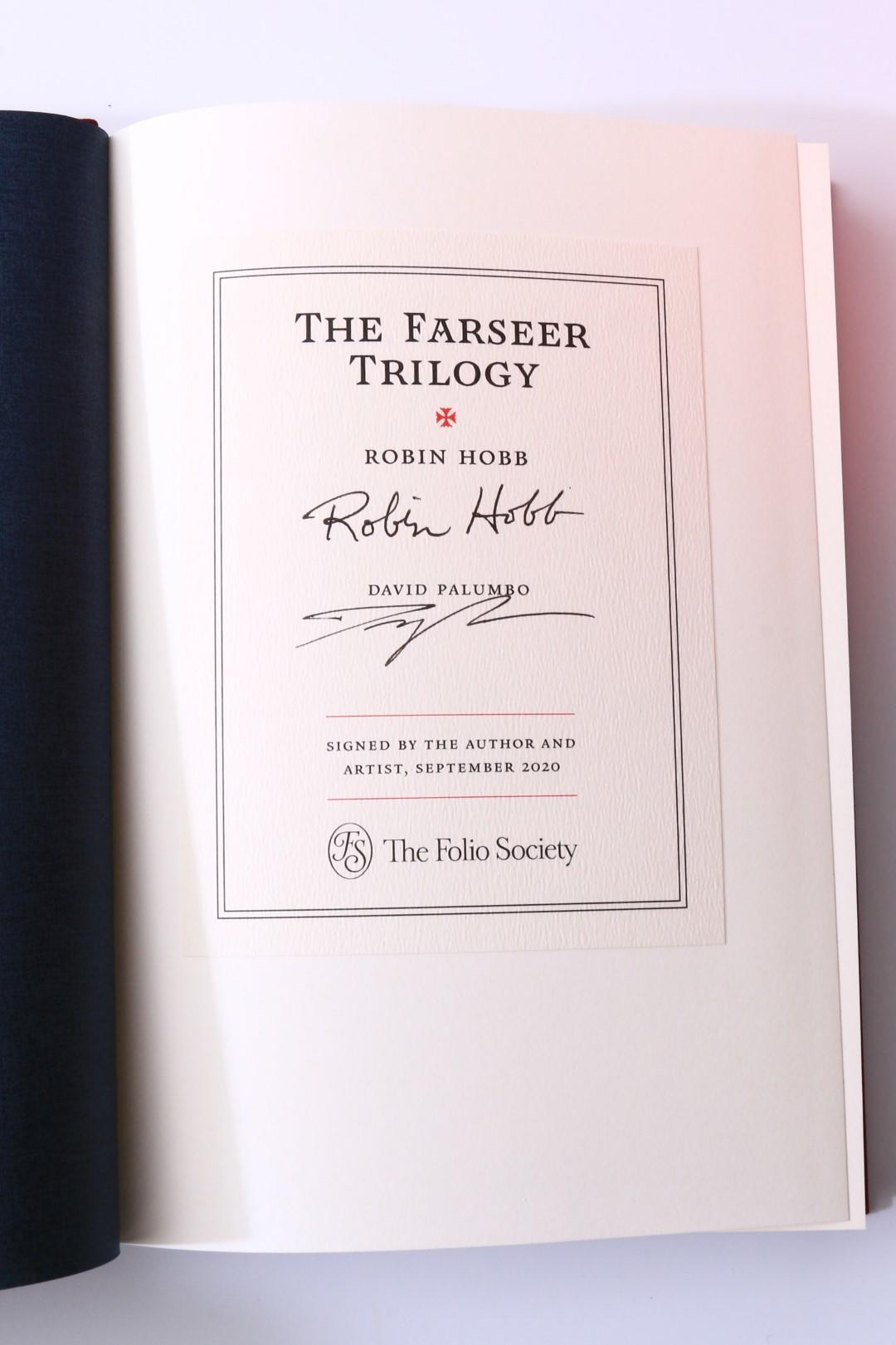 Robin Hobb - The Farseer Trilogy [comprising] Assassin's Apprentice, Royal Assassin and Assassin's Quest - Folio Society, 2020, Signed Limited Edition.