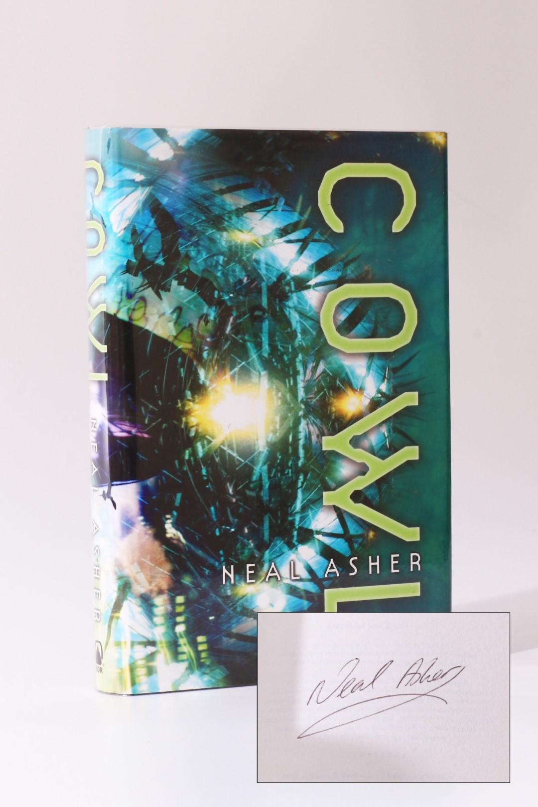 Neal Asher - Cowl - Tor, 2004, First Edition.